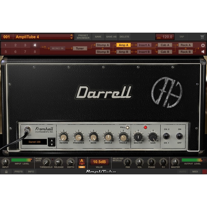 IK Multimedia/AmpliTube Dimebag Darrell CFH Collection【オンライン納品】