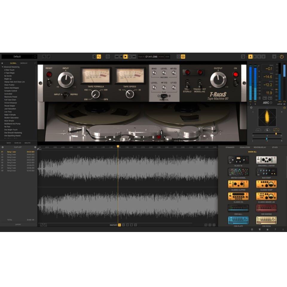 IK Multimedia/T-RackS Tape Collection【ダウンロード版】【オンライン納品】