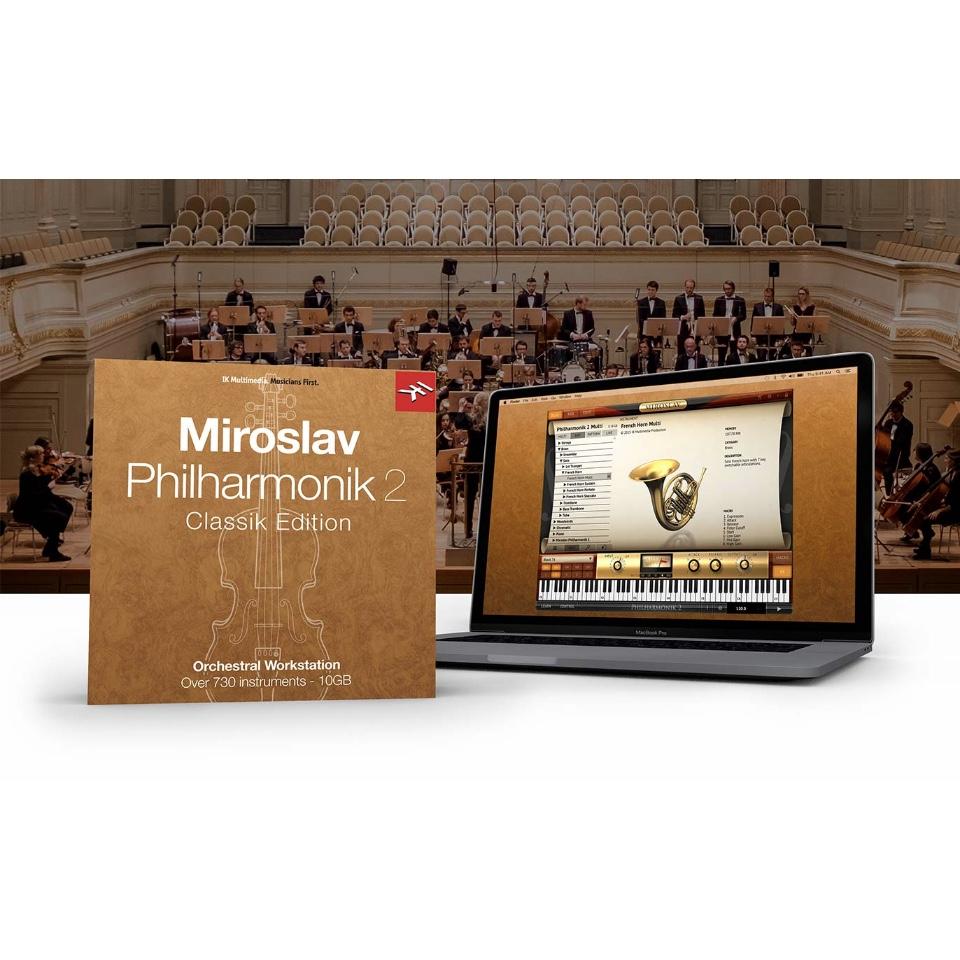 IK Multimedia/Miroslav Philharmonik 2 CE【オンライン納品】