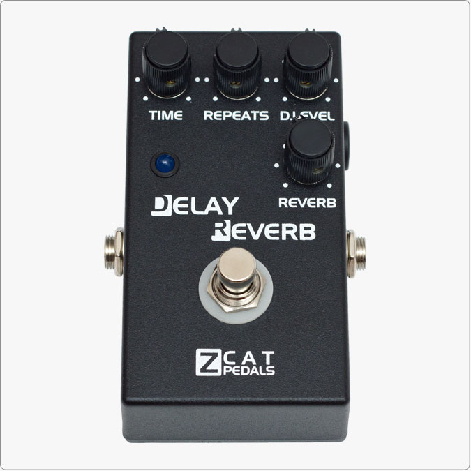 ZCAT Pedals/Delay-Reverb【お取り寄せ商品】