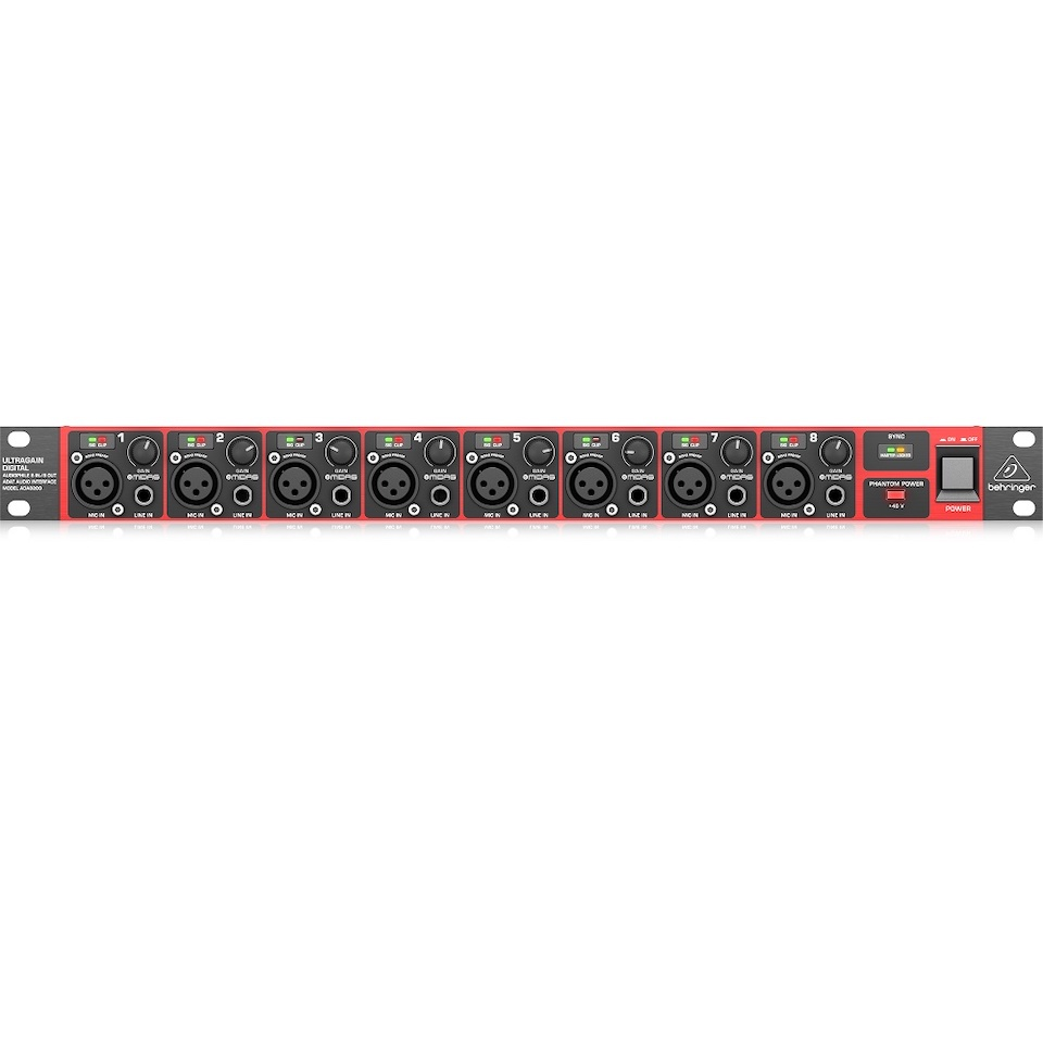BEHRINGER/ADA8200 ULTRAGAIN DIGITAL