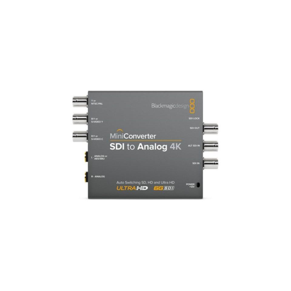 Blackmagic Design/Mini Converter - SDI to Analog 4K