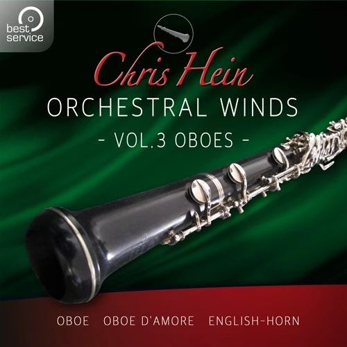 BEST SERVICE/CHRIS HEIN WINDS 2.0 VOL3 OBOES【オンライン納品】【在庫あり】