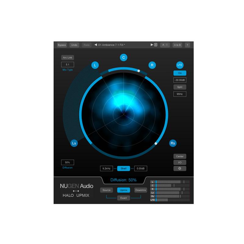 Nugen Audio/Halo Upmix