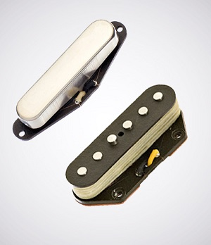 LOLLAR PICKUPS/ALNICO 3 TELE SET/Chrome/Staggard【送料無料】【お取り寄せ商品】