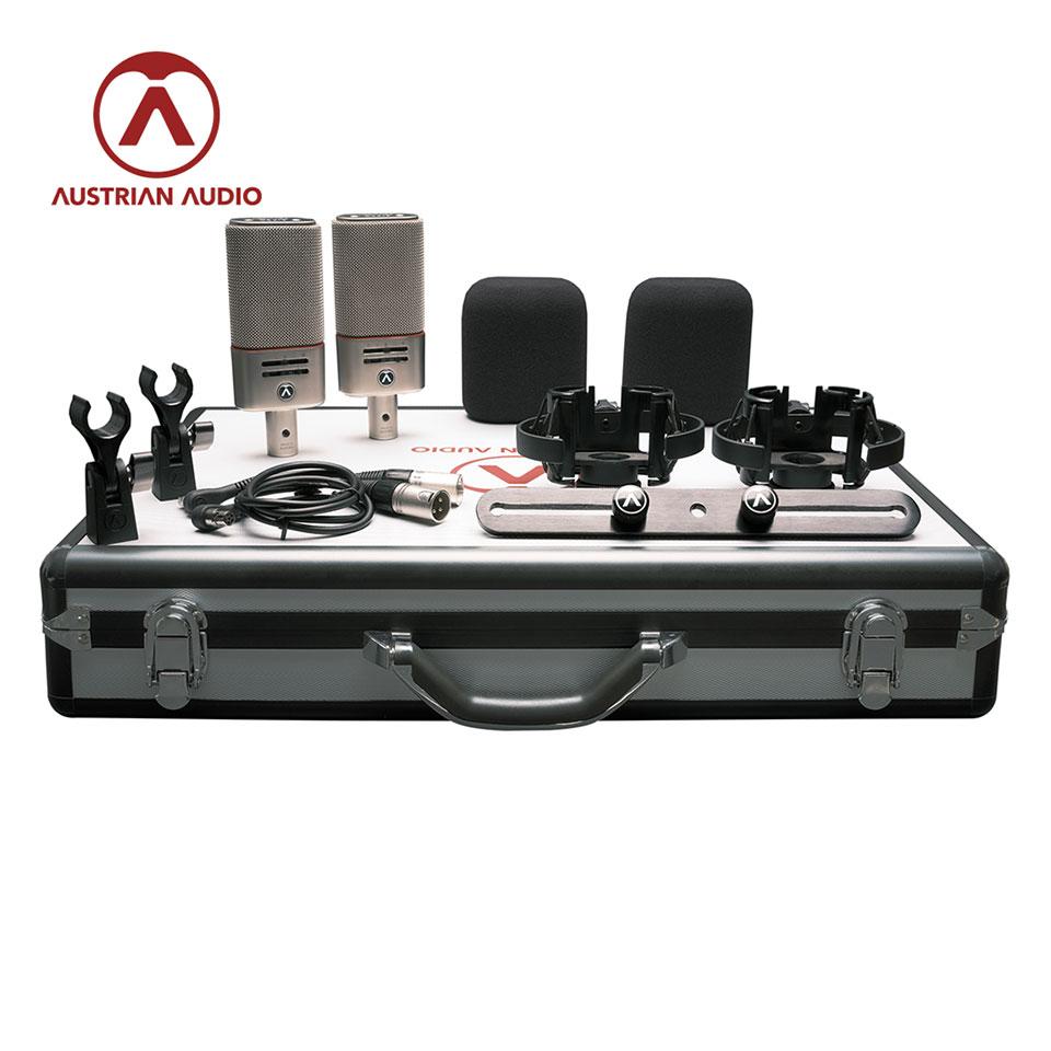 激安通販 ワイヤレス コントロール オプションを備えたマルチパターンデュアル出力コンデンサー お歳暮 マイクロフォンOC818 ペアセット Austrian Audio Set Dual Plus OC818