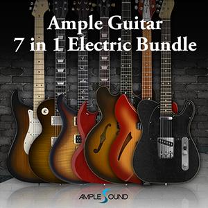 AMPLE SOUND/AMPLE GUITAR 6 IN 1 ELECTRIC BUNDLE【オンライン納品】【在庫あり】
