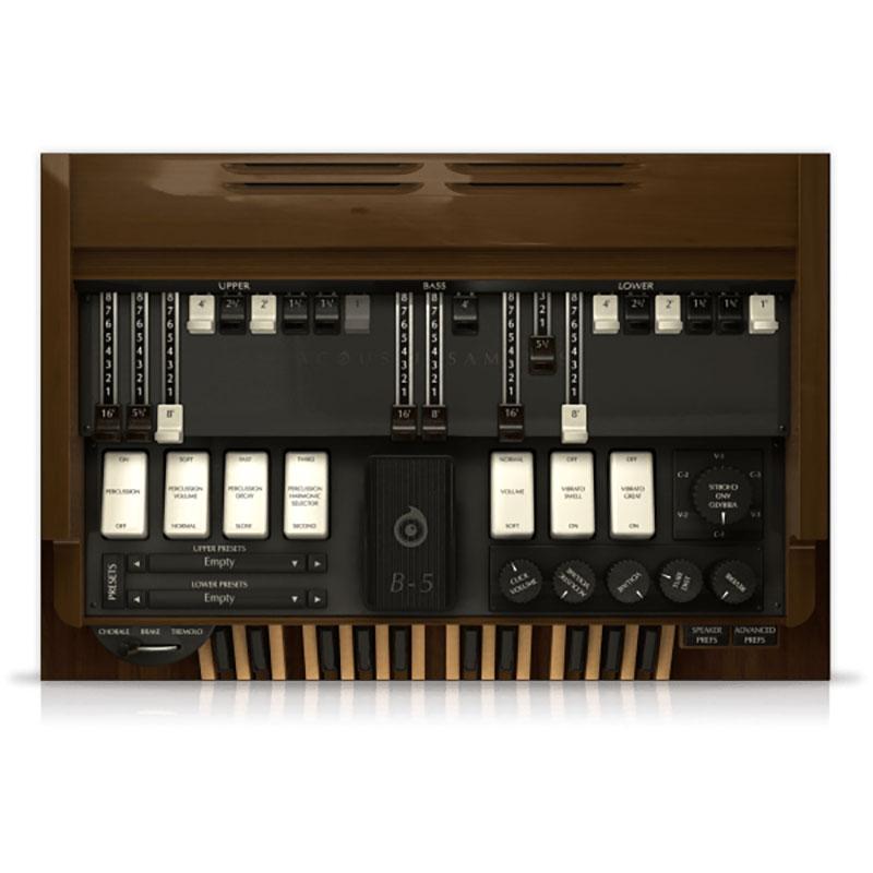 acoustic samples/B-5 Organ【オンライン納品】【FOMIS】