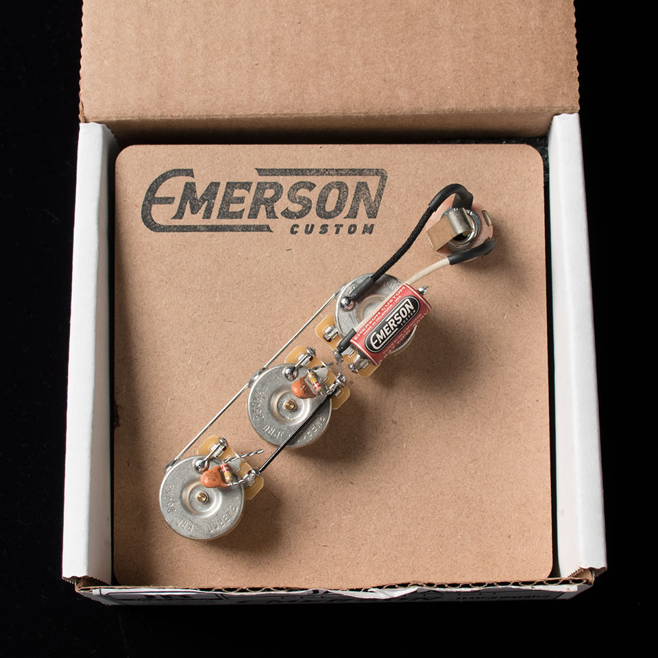 Emerson Custom/Emerson Custom Pre-Wired Kit Jazz-Bass【ジャズベ】【配線済み】【エマーソン】【在庫あり】