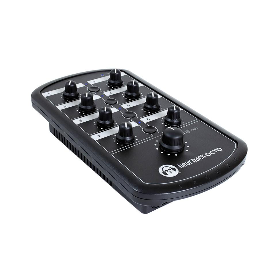 8チャンネルのパーソナル モニター システム 爆安プライス Hear Back の拡張 Mixer 休日 Technologies OCTO 最小システム用の単体ミキサー