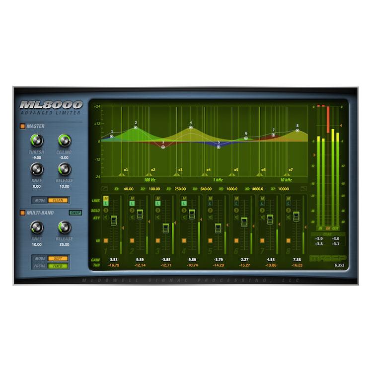 McDSP/ML8000 Native【オンライン納品】