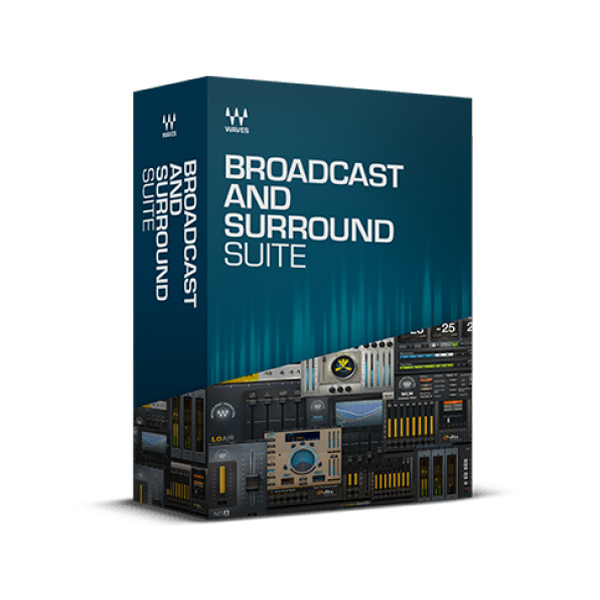 Waves/Broadcast and Surround Suite