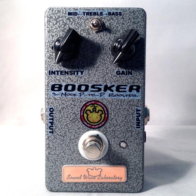 Sound Wave Lab/BOOSKER【在庫あり】【国産ハンドメイドエフェクターセール!】