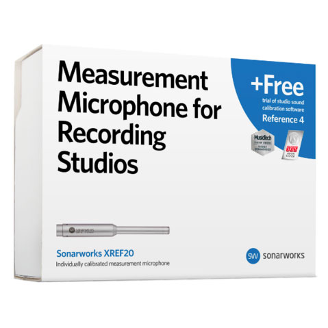 Sonarworks/XREF20 Measurement Microphone + Reference 4 Trial【パッケージ版】
