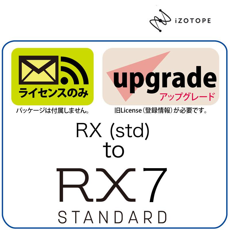 iZotope/RX1-5 to RX 6 Standard UPG【オンライン納品】