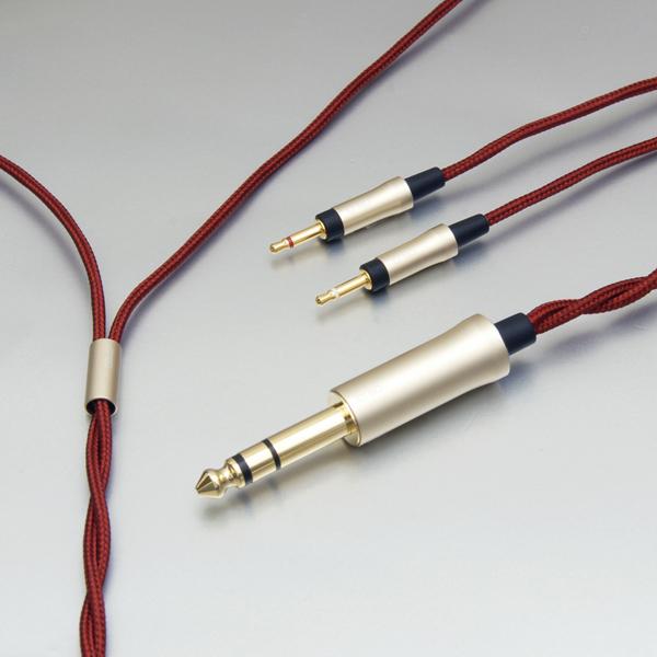 onso/hpct_03 ヘッドホンケーブル 6.3mmステレオ-2.5mmモノx2 3.0m【HPCT_03_UB62_300】