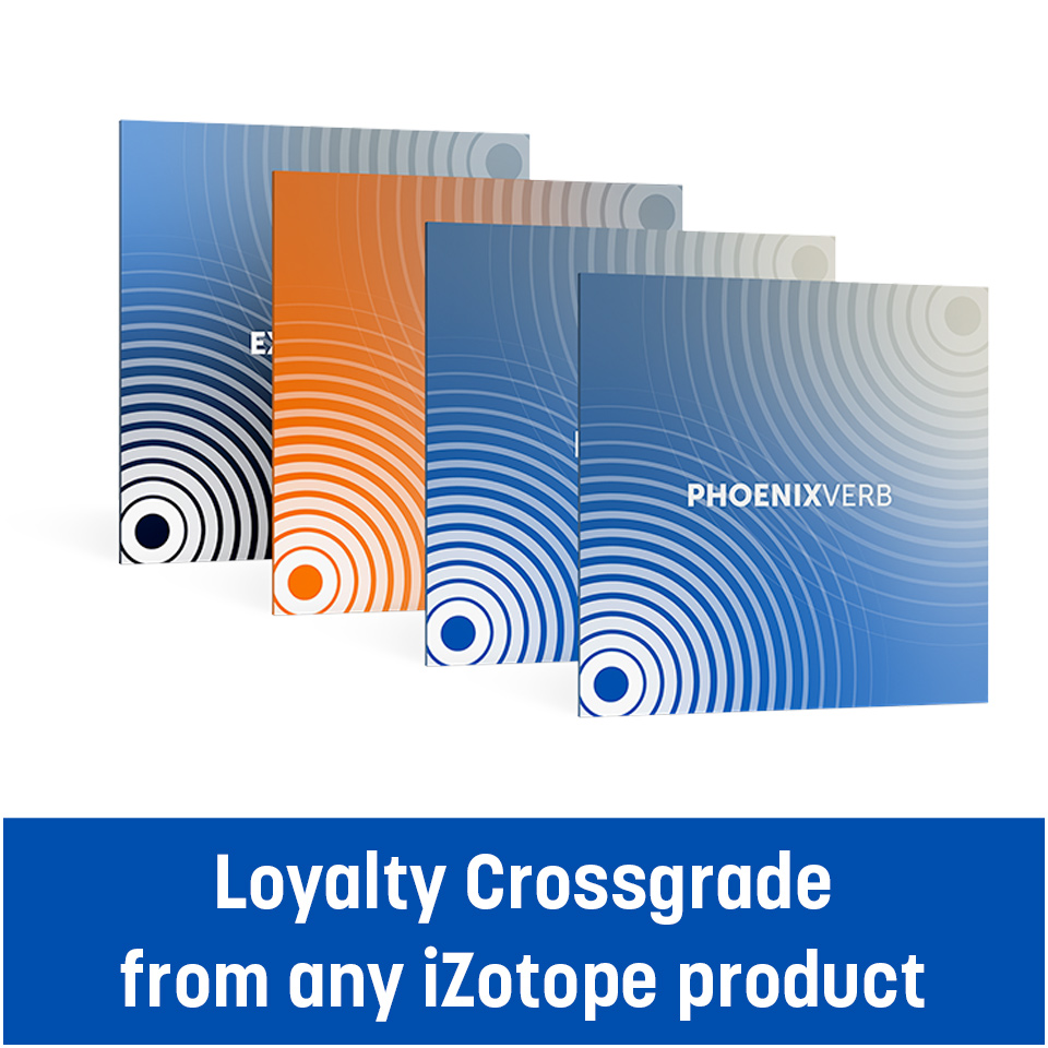 EXPONENTIAL AUDIO/Stereo Reverb Bundle - Loyalty crossgrade from any iZotope product【期間限定特価キャンペーン】【オンライン納品】【在庫あり】