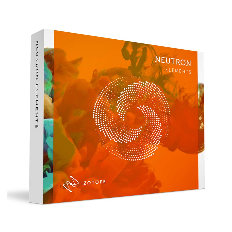 iZotope/Neutron 3 Elements【オンライン納品】