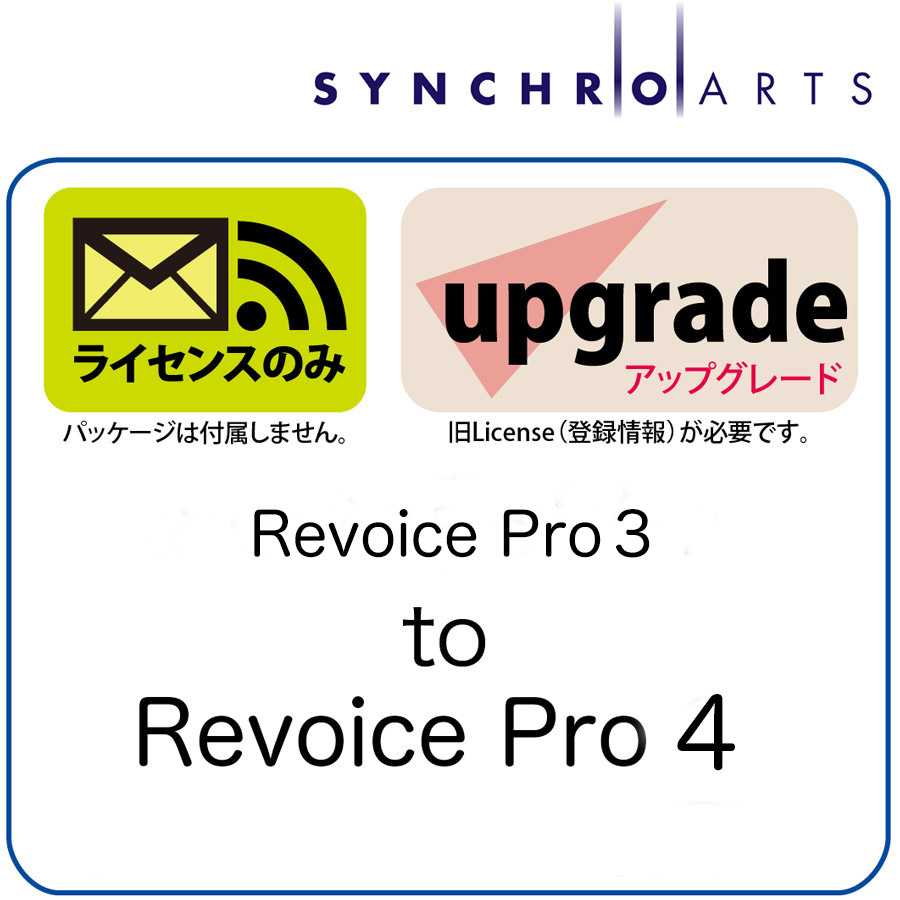SynchroArts/Revoice Pro 3 - Trade-in Revoice Pro 2 or Revoice Pro 1【期間限定キャンペーン】【オンライン納品】