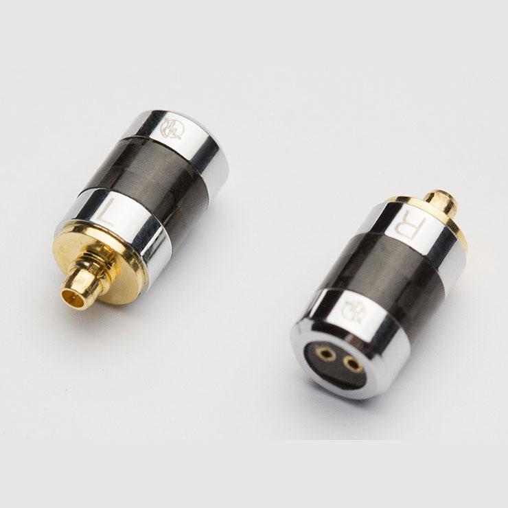 Rhapsodio/2pin to MMCX adaptor【2pin→MMCX】
