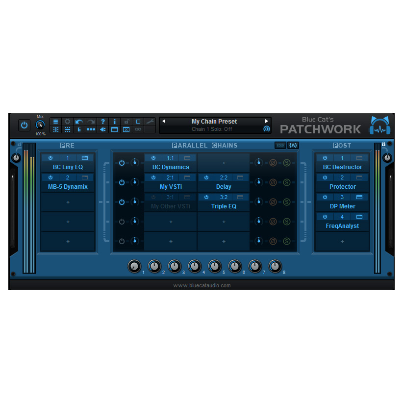 Blue Cat Audio/Blue Cat's PatchWork V2【オンライン納品】