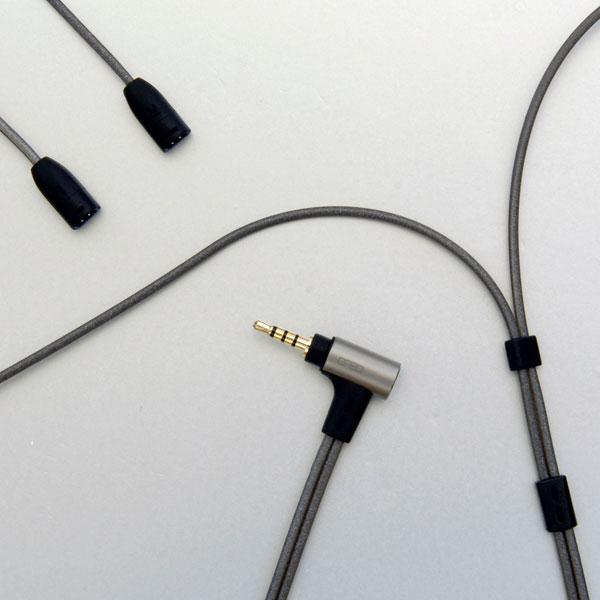 onso/iect_04 イヤホンケーブル 2pin(sennheiser)-2.5mm4極 1.2m【IECT_04_BL2S_120】