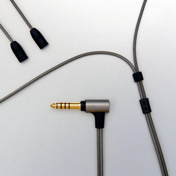 onso/iect_04 イヤホンケーブル 2pin(sennheiser)-4.4mm5極 1.2m【IECT_04_BL4S_120】