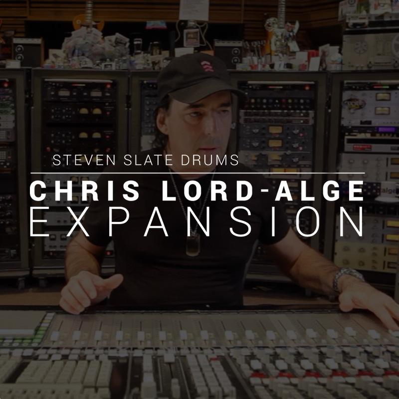 Steven Slate Drums/Chris Lord-Alge EXPANSION【オンライン納品】【SSD拡張】