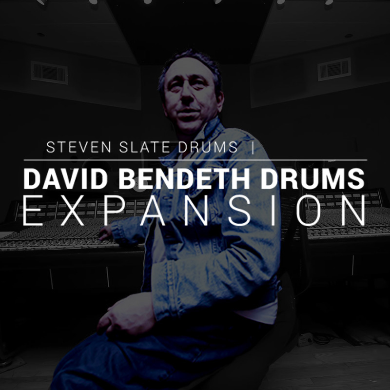 Steven Slate Drums/David Bendeth Drums EXPANSION【オンライン納品】【SSD拡張】【在庫あり】