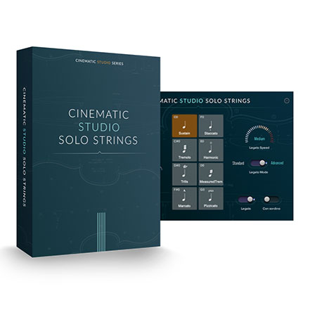 CINEMATIC STRINGS/CINEMATIC STUDIO SOLO STRINGS【オンライン納品】【在庫あり】
