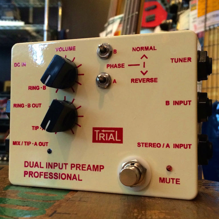 TRIAL/DUAL INPUT PREAMP PROFFESIONAL【お取りよせ商品】