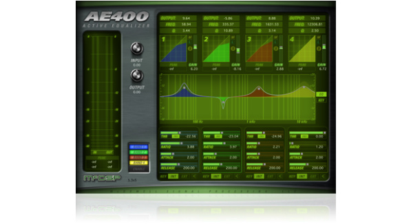 McDSP/AE 400 Active EQ HD v6【オンライン納品】