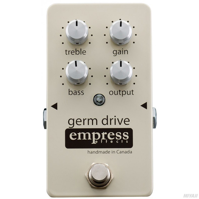 Empress Effects/Germ Drive【Germanium Overdrive Pedal/オーヴァードライヴ】