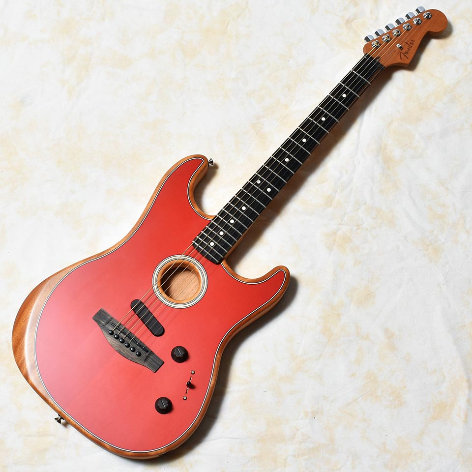 Fender/American Acoustasonic Stratocaster (Dakota Red)【ご予約受付中】