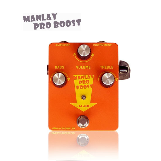 Manlay Sound/PRO BOOST【国内正規品】【お取り寄せ】