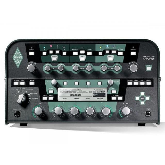 Kemper/Profiling Amplifier Head Black