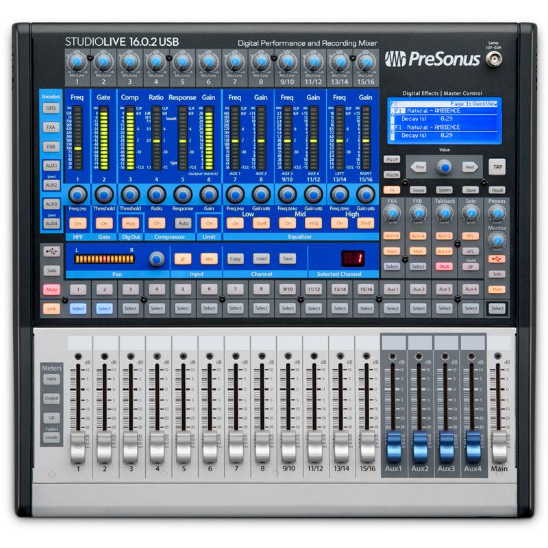 PreSonus/StudioLive 16.0.2 USB