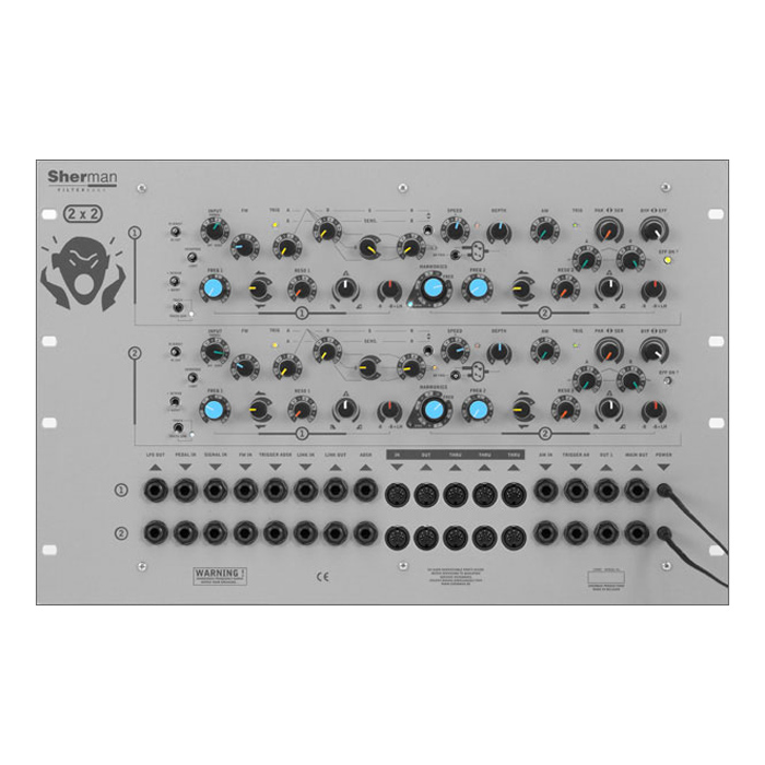 Sherman/Filterbank 2 Dual Rack