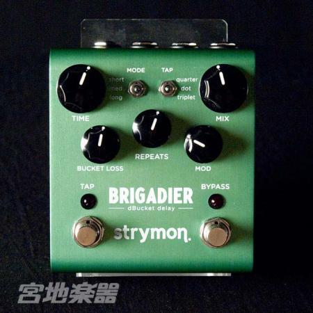 定価 先進のデジタル技術と堅実なアナログ技術が融合した次世代ディレイ strymon 無料 正規輸入品 BRIGADIER