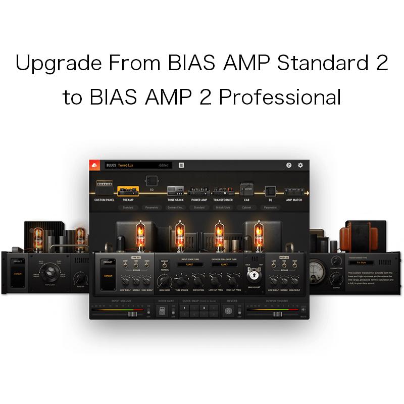 即日発送 Positive grid/Upgrade grid 2/Upgrade From BIAS BIAS AMP Standard 2 to BIAS AMP 2 Professional【オンライン納品】【在庫あり】, インポートブランド ロータス:529ca926 --- canoncity.azurewebsites.net