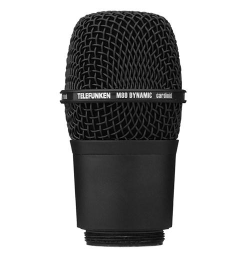 TELEFUNKEN Elektroakustik/M80WH BLACK【ワイヤレス・マイクロフォン用ヘッド】