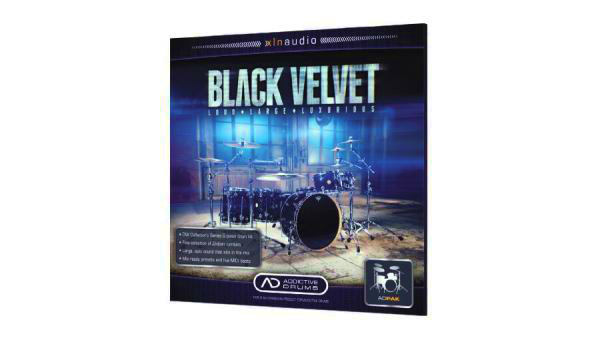 xln audio/Addictive Drums 2 Black Velvet ADpak
