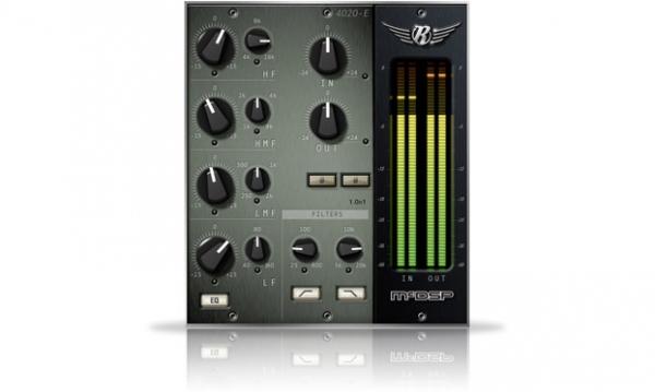 McDSP/4020 Retro EQ HD v6【オンライン納品】【在庫あり】