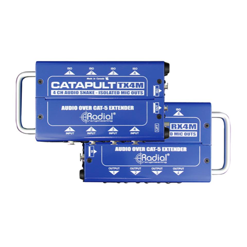 <title>※アウトレット品 4チャンネル オーディオスネーク Radial Catapult TX4M</title>