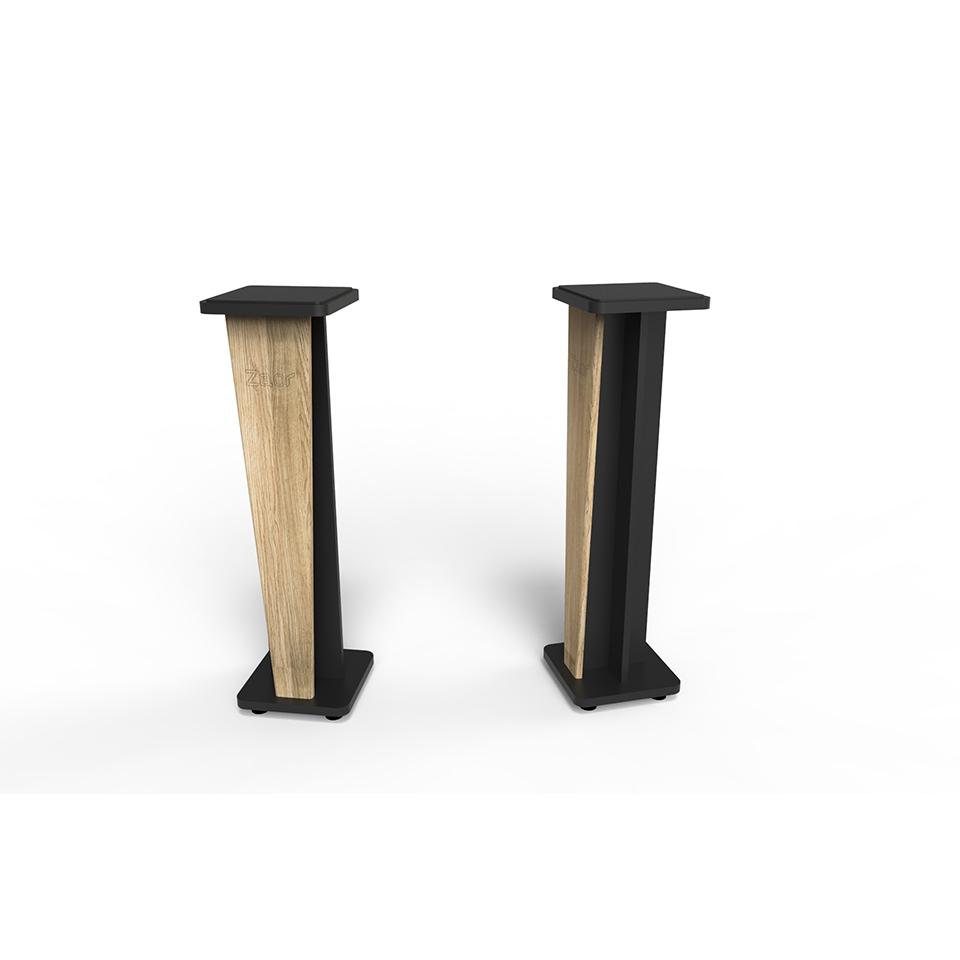 Zaor Studio Furniture/Croce Stand 42 (pair) Oak/Black【受発注品】