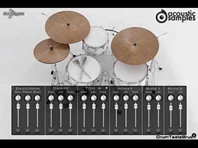 acoustic samples/AS Drums Collection【オンライン納品】【FOMIS】