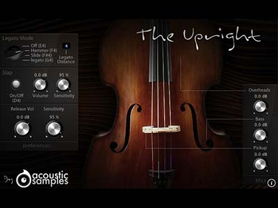acoustic samples/The Upright【オンライン納品】【FOMIS】