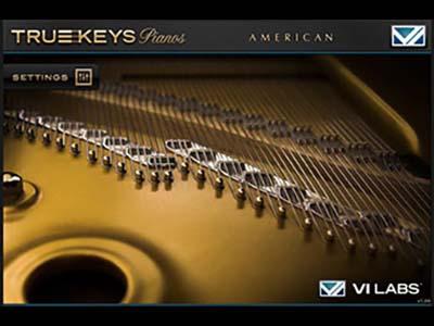 VI Labs/True Keys : Pianos【オンライン納品】【FOMIS】