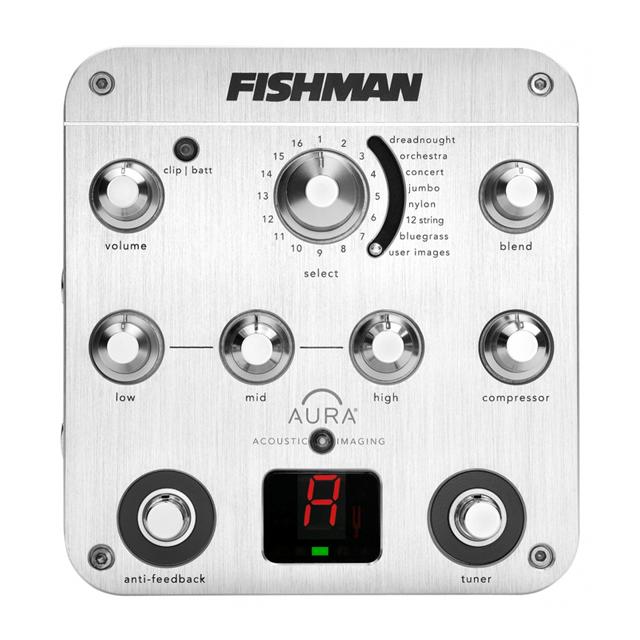 FISHMAN/Aura Spectrum DI Preamp【アコギ】【プリアンプ】【お取り寄せ商品】
