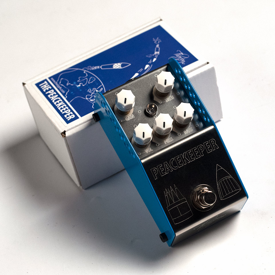 Thorpy FX/The PEACEKEEPER Low Gain Overdrive V2【在庫あり】